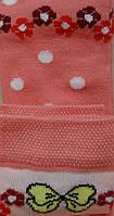 Комплект для дівчаток: футболки, шкарпетки (колір кораловий), ріст 86-92 см