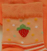 Комплект для дівчаток: футболки, шкарпетки (помаранчевий колір), ріст 86-92 см