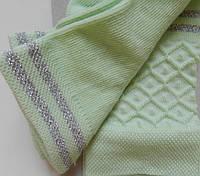Комплект для дівчаток: футболки, шкарпетки (колір салатовий), ріст 86-92 см