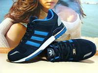 Кроссовки для бега Adidas ZX синие 42 р. , фото 1