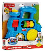 Развивающий музыкальный Паровозик Fisher Price 7140 Brilliant Basics