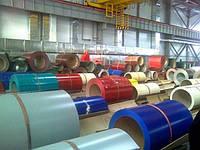 Оцинкованный лист с полимерным (цветным) покрытием в Украине, оцинковка с полимерным покрытием, фото 1