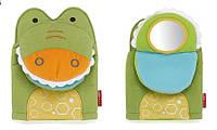 Интерактивная игрушка на руку Skip hop (Крокодил, Жираф) «3 в 1»:
