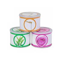 Воск в металлических банках 400 гр роза, мед, чайное дерево YPD-02, воск YRE, воск для депиляции купить