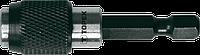 Держатель для наконечников, 1/4, 60 мм, магнитный, Topex, 39D337