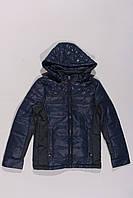 Куртка для мальчиков с твидовыми вставками (134-158), фото 1