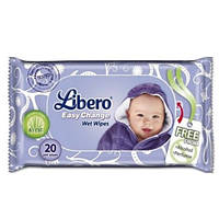 Libero Easy Change Влажные салфетки детские 20 шт