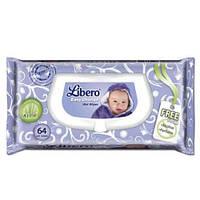 Libero Easy Change Влажные салфетки детские 64 шт