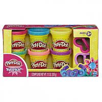Play-Doh Sparkle Play-Doh Sparkle Compound Collection Compound Net WT 12 oz (336g)