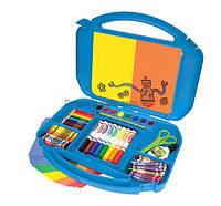Набор для рисования - 85 предметов в чемодане с мольбертом (Crayola)