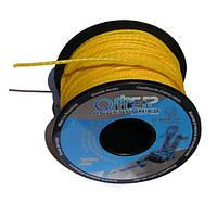Линь для гарпуна Omer Dyneema 2 мм жёлтый