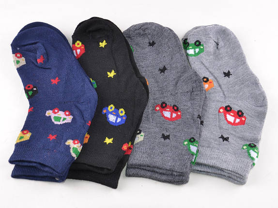 Детские носки Машинки 2-4 года (D3333-2/4) | 12 пар, фото 2