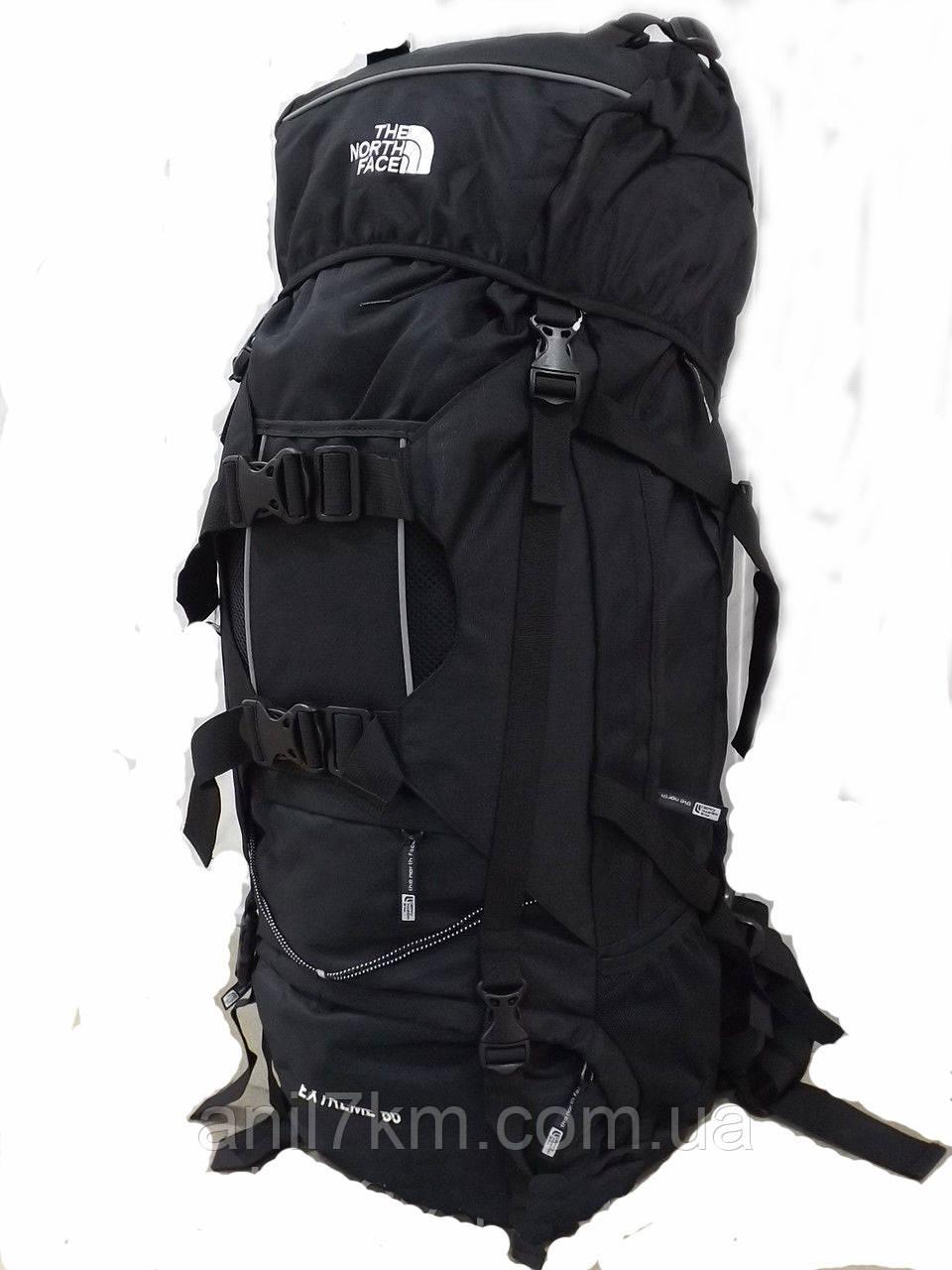 Туристичний рюкзак об'ємом 80л.фірми THE NORTH FACE