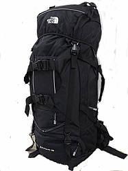 Туристический рюкзак объёмом 80л.фирмы THE NORTH FACE
