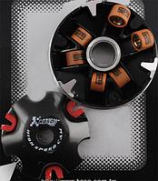 Вариатор передний (тюнинг) Suzuki LETS (медно-графитовая втулка, ролики латунь) KOSO