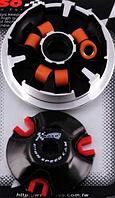 Вариатор передний (тюнинг) Yamaha BWS 100 (медно графитовая втулка, ролики латунь) KOSO