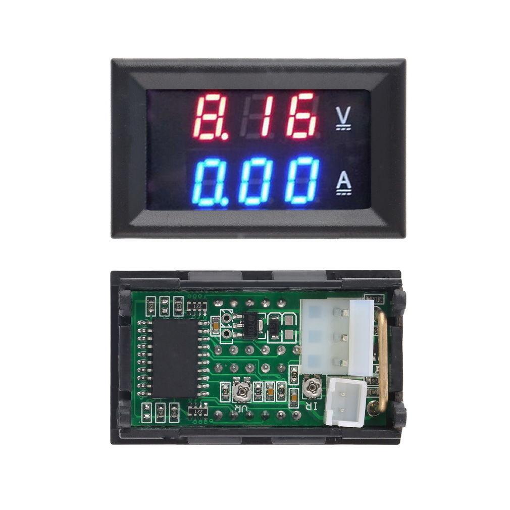 Цифровий амперметр вольтметр DC 100 В, 10 А
