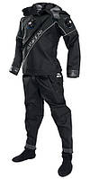 Сухой гидрокостюм для дайвинга SubGear Extender триламинат + боты, шлем