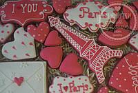 """Пряничный набор """"Для влюбленных""""-оригинальный подарок на 14 февраля"""