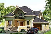 Строительство дома из сип панелей 320,92м.кв. «ОДИН»