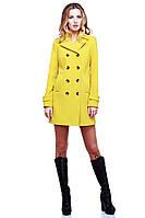 Яркое пальто для стильных девушек