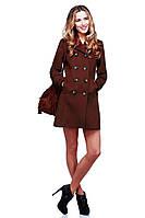 Красивое шоколадное пальто