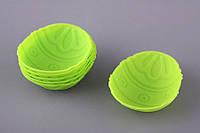 Формы для выпечки силиконовые Рождественские яйца 6 шт 7Х5 см 710-167
