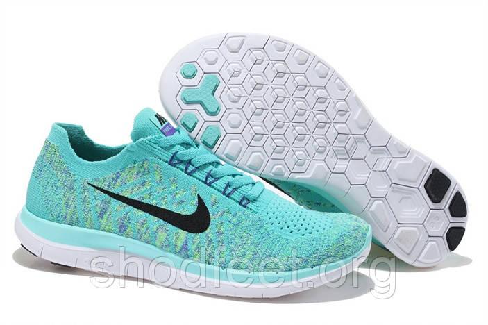 "Женские кроссовки Nike Free 4.0 Flyknit ""Hyper Turquoise"""
