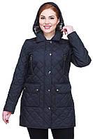 Стильная утепленная женская куртка
