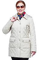 Женская весенняя куртка средней длины
