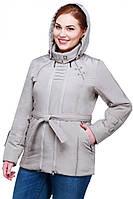 Куртка женская с декоративными строчка