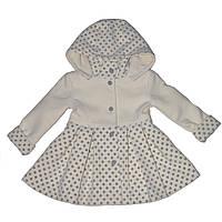 Пальто Полинка детское для девочки, 110 р
