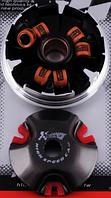 Вариатор передний (тюнинг) Yamaha JOG 90, 2T Stels 50 (медно-графитовая втулка, ролики латунь) KOSO