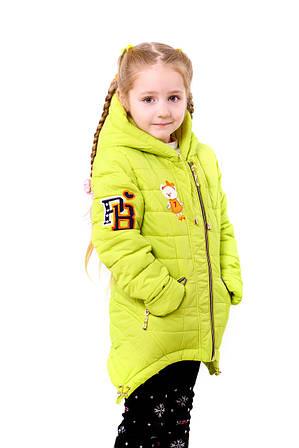 """Детская зимняя курточка  для девочек""""Мишки"""""""
