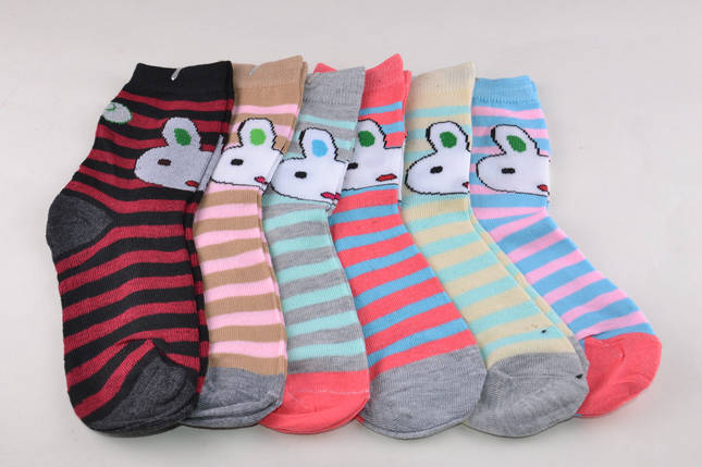 Детские носки в полоску Зайка 29-32 (D3101/29-32) | 12 пар, фото 2