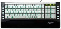 Проводная  клавиатура с  подсветкой клавиш Gembird KB-9630SB-RUA