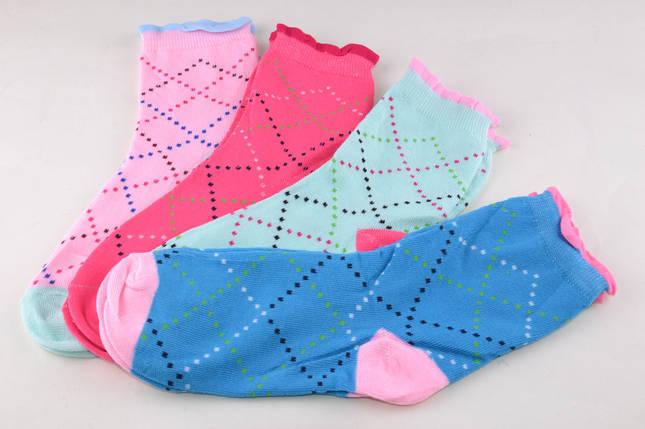Детские носки Ромбик на девочку (D382-11) | 12 пар, фото 2