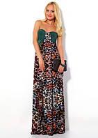 Платье со съемным мехом Waggon Paris