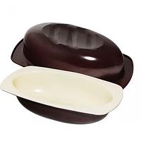 Форма для выпекания хлеба (сталь+керамика, 17*32*7 см) SNT 30242