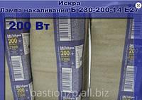 Лампа накаливания (ЛОН) Б 230-200-7 Е27 - Искра