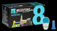 Универсальные иголки Wellion MEDFINE Plus для инсулиновых шприц-ручек 8mm