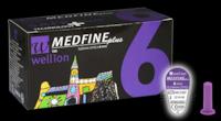 Универсальные иголки Wellion MEDFINE Plus для инсулиновых шприц-ручек  6 мм