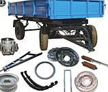 Колеса, ступиці, диски, шпильки запчастини 2 ПТС-4 причіп тракторний