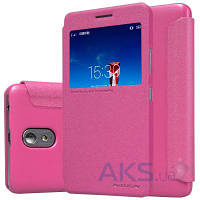 Чехол Nillkin Sparkle Leather Series Lenovo Vibe P1m Pink