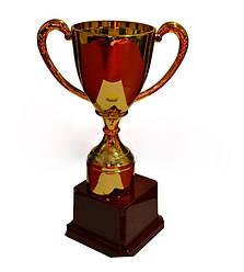 Кубок большой, h- 23 см, d- 8 см(пластмасса)