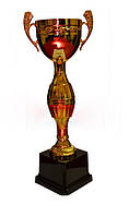 Кубок средний, h- 31,5 см, d- 8(пластмасса)