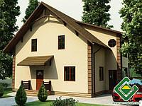Энергоэффективный дом, проект 216,56 м.кв., «ИОН»