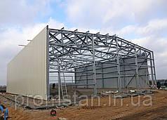 Каркасное строительство спортзалы, СТО, мойки, автозаправки, фермы, навесы