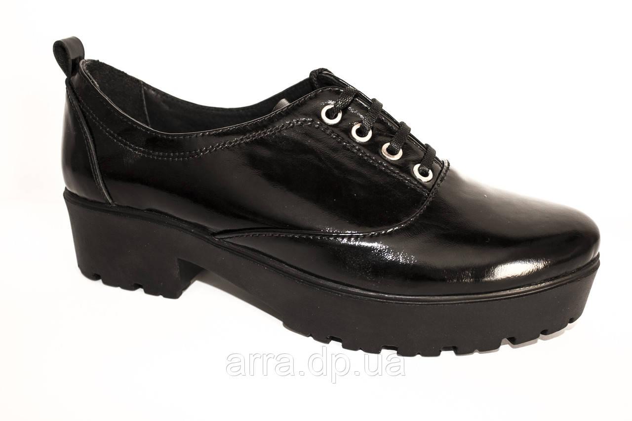 Туфли из лаковой кожи ARRA