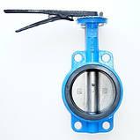 Задвижка поворотная Баттерфляй диск нержавеющая сталь упл. EPDM Ду50 Ру16, фото 2